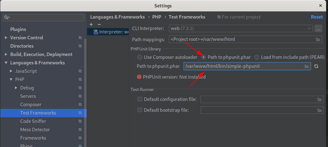 debug phpstorm with docker