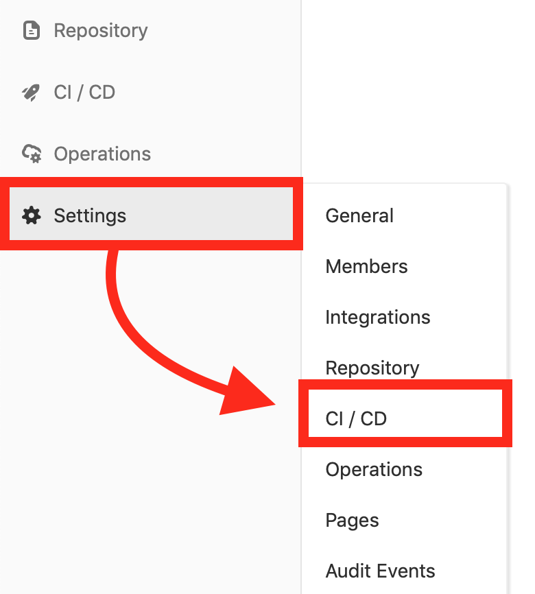 gitlab-ci-settings